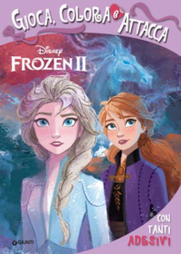 Frozen 2. Gioca colora attacca. Con adesivi -  pdf epub