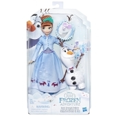 Frozen Adventure Fashion Doll Ass.to