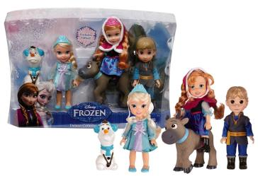 Frozen Set 5 Mini Doll