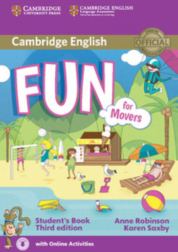 Fun for movers. Student's book with audio. Per la Scuola media. Con e-book. Con espansione online