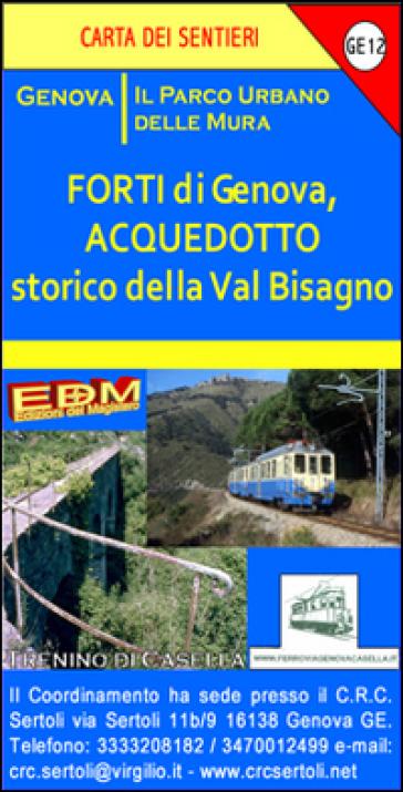 GE 12 Acquedotto storico della val Bisagno 1:10.000 - Stefano Tarantino | Rochesterscifianimecon.com