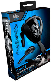 GIOTECK Auricolare Bluetooth EX-01  PS3