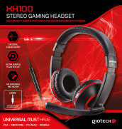 GIOTECK Cuffie Stereo XH100