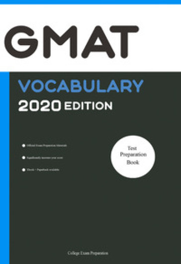 GMAT vocabulary 2020