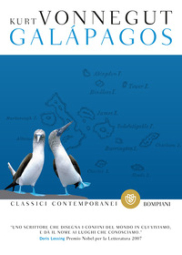 Galapagos - Kurt Vonnegut | Rochesterscifianimecon.com