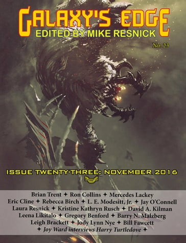 Galaxy's Edge Magazine: Issue 23, November 2016