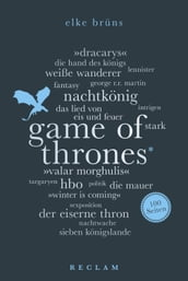 Game of Thrones. 100 Seiten