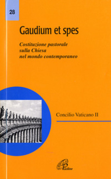 summary of gaudium et spes Get this from a library gaudium et spes [austin flannery] -- the sixteen official documents, constitutions, decrees, and declarations, of the second vatican council are now available from liturgical press in the most.
