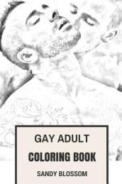 Gay Adult Coloring Book