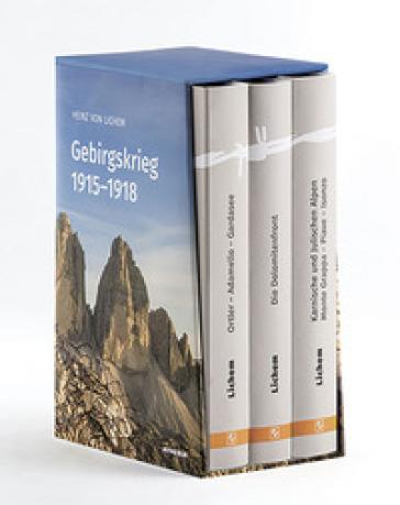Gebirgskrieg 1915-1918 - Heinz von Lichem | Rochesterscifianimecon.com