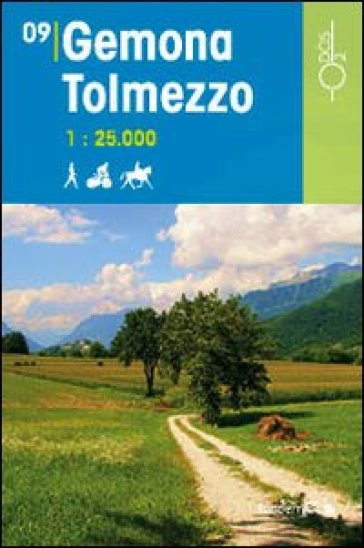 Gemona Tolmezzo 1:25.000 - D. Pozzati pdf epub