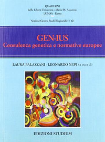 Gen-Ius. Consulenza genetica e normative europee - Dario Vitali | Rochesterscifianimecon.com
