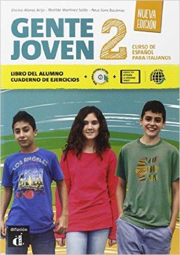Gente joven. Nueva edicion. Con e-book. Con espansione online. Per le Scuole superiori. Con DVD-ROM. 2. -  pdf epub