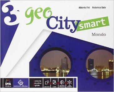 Geocity smart. Per la Scuola media. Con e-book. Con espansione online. 3: Italia mondo - Alberto Fré |