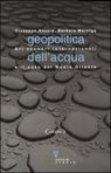 Geopolitica dell'acqua. Gli scenari internazionali e il caso del Medio Oriente - Giuseppe Anzera   Rochesterscifianimecon.com