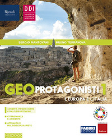 Geoprotagonisti. Per la Scuola media. Con e-book. Con espansione online. 1. - Sergio Mantovani | Thecosgala.com
