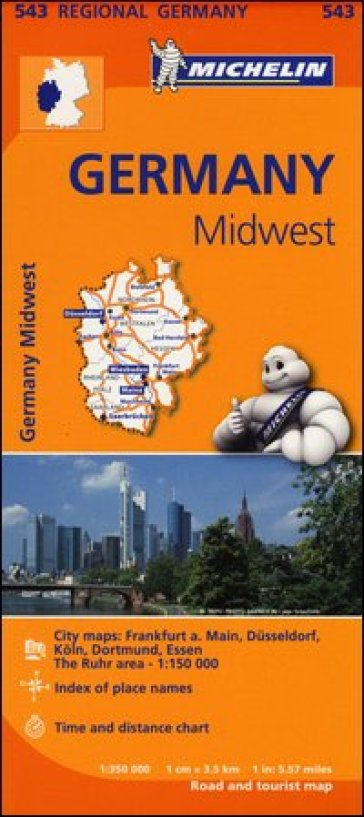 Germany Midwest 1:350.000