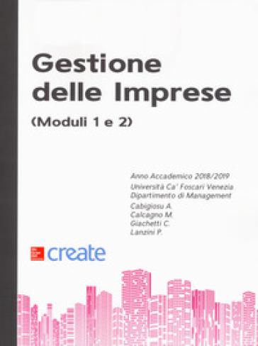 Gestione delle imprese (moduli 1 e 2) - Anna Cabigiosu  