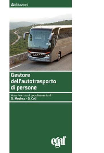 Gestore dell'autotrasporto di persone - G. Mesirca |