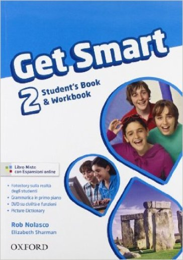 Get smart. Student's book-Workbook. Per la Scuola media. Con CD Audio. Con espansione online. 2.