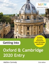 Getting into Oxford & Cambridge 2020 Entry