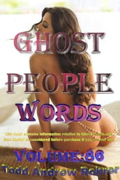 Ghost People Words: Volume:86