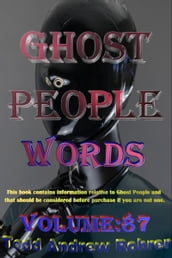 Ghost People Words: Volume:87