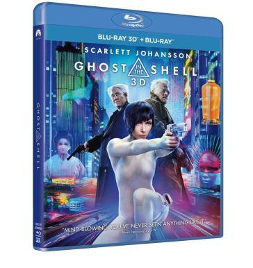 Ghost in the shell (2 Blu-Ray)(2D+3D)