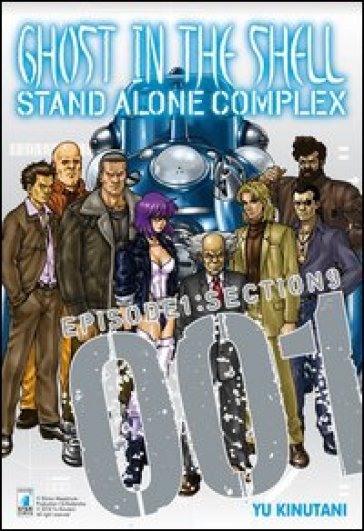 Ghost in the shell. Stand alone complex. 2.