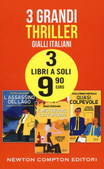 Gialli italiani: L'assassino del lago-Il mistero del gattopardo-Quasi colpevole - Pietro Garanzini |