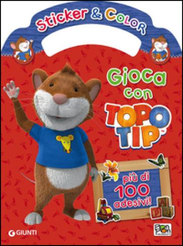 Gioca con topo tip sticker e color con adesivi for Topo tip giocattoli