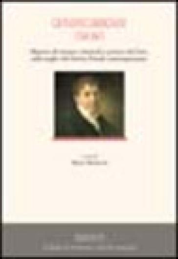 Giovanni Carmignani (1768-1847). Maestro di scienze criminali e pratico del foro, sulle soglie del diritto penale contemporaneo - M. Montorzi  
