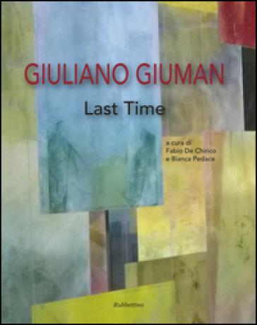 Giuliano Giuman. Last time - F. De Chirico |