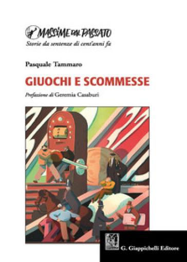 Giuochi e scommesse - Pasquale Tammaro pdf epub
