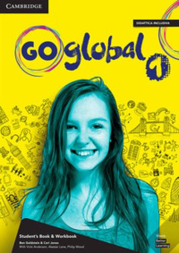 Go global plus. Student's book/Workbook. Level 1. Per la Scuola media. Con e-book. Con DVD-ROM