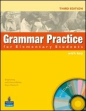 Grammar practice. Intermediate. With key. Per le Scuole superiori. Con CD-ROM