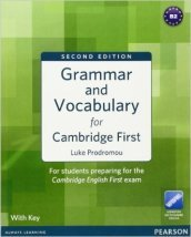 Grammar & vocabulary for Cambridge first. Student
