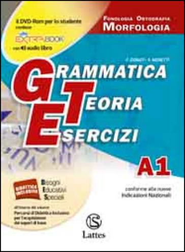 Grammatica teoria esercizi. Vol. A1-A2-B-C-D. Per le Scuole superiori ROM. Con DVD. Con e-book. Con espansione online - F. Donati |
