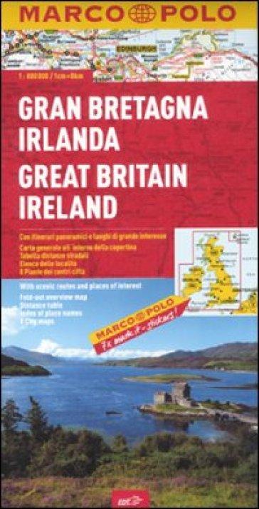 Gran Bretagna, Irlanda 1:800.000. Ediz. multilingue