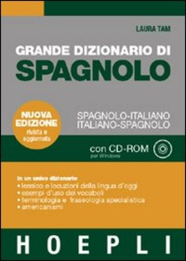 Grande dizionario di spagnolo-italiano, italiano-spagnolo