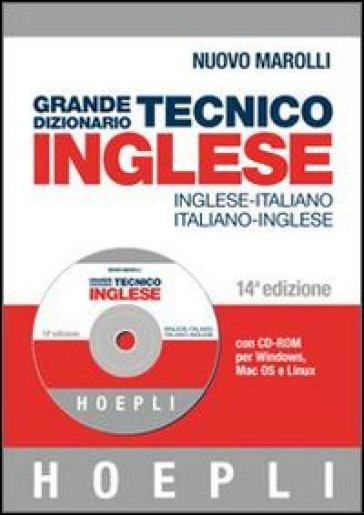 Grande dizionario tecnico inglese inglese italiano for Traduzione da inglese a italiano