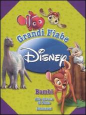 Grandi fiabe Disney: Bambi-Alla ricerca di Nemo-Dinosauri