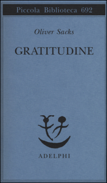 Gratitudine - Oliver Sacks  