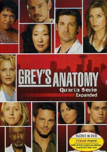 Grey's anatomy - Stagione 04 (5 DVD)(expanded)