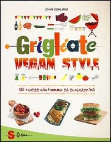 Grigliate vegan style. 125 ricette alla fiamma ed ecosostenibili - John Schlimm pdf epub