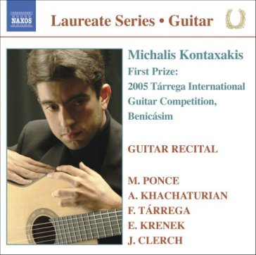 Guitar recital - laureate series, concor