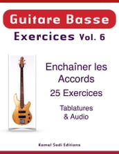 Guitare Basse Exercices Vol. 6