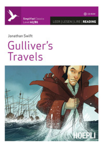 Gulliver's travels. Con CD-Audio - Jonathan Swift |