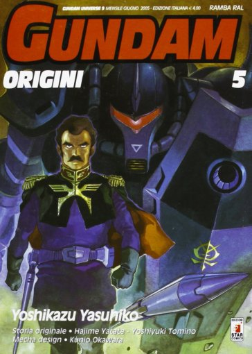 Gundam origini. 5. - Yoshikazu Yasuhiko |