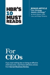 HBR s 10 Must Reads for CEOs (with bonus article
